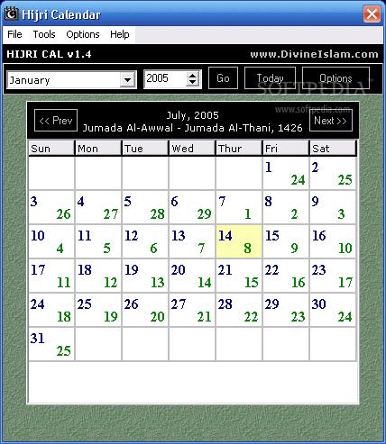 Calendar - Shia Multimedia
